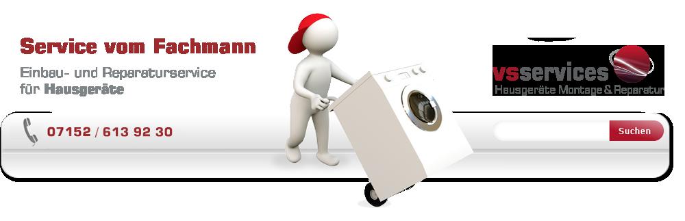 einbau service reparier service hausger te leonberg einbau und reparatur von waschmaschine. Black Bedroom Furniture Sets. Home Design Ideas